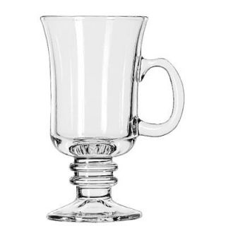 Libbey Warm Beverage Drinking Glasses Irish Coffee, 8 1/2 Ounce