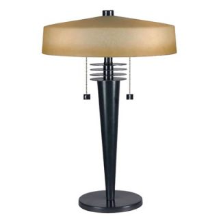 Kenroy Home Windham Two Light Table Lamp in Bronze   32085BRZ