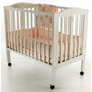 Dream On Me 3 in 1 Portable Folding Crib in White