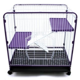 Ware Mfg Home Sweet Home 3 Level Small Animal Cage