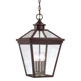 House Ellijay Outdoor Hanging Lantern in English Bronze   5 145 13