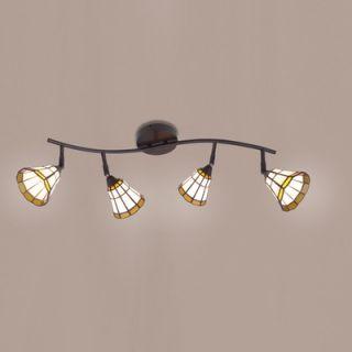 Eurofase Lakewood Four Light Track Light in Rust   13705 039