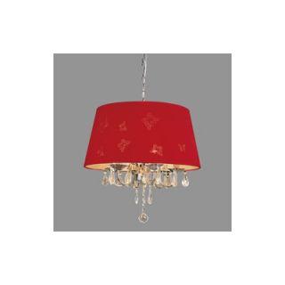 TransGlobe Lighting 3 Light Pendant   PND 610 RED