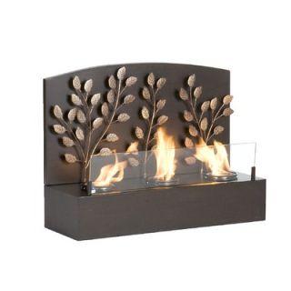 Wildon Home ® Dexter Wall Mounted Gel Fuel Fireplace