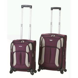 Rockland 2 Piece Spinner Carry On Luggage Set