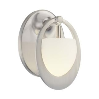 George Kovacs Wall Sconce in Brushed Nickel   P5901 084