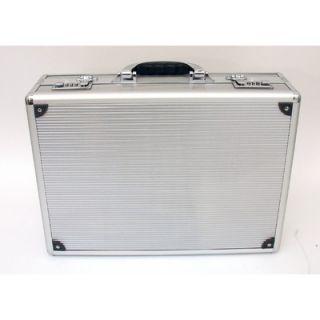 Platt Aluminum Attache Case in Satin Finish 12.25 x 17.25 x 4.5