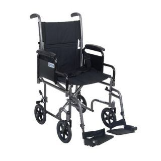 Drive Medical Transport Chairs Lightweight Steel Transport Wheelchair