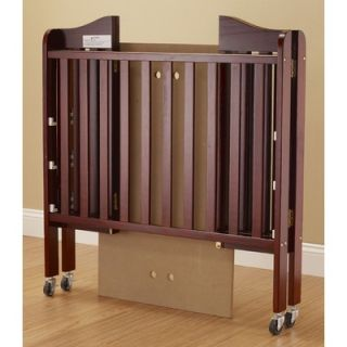 Orbelle Three Level Portable Crib in Cherry