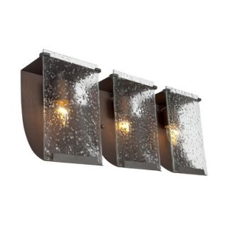 Varaluz Recycled Rain Bath Light   Three Light