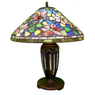 Warehouse of Tiffany Tiffany Style Floral Table Lamp   GB50+ES02