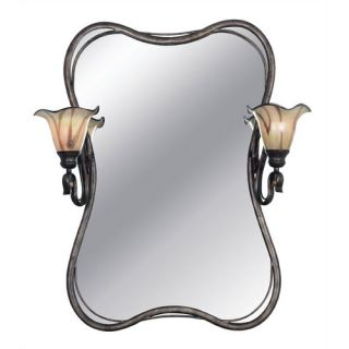 Inverness Vanity Mirror in Tuscan Silver