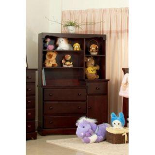 ... Eden Baby Furniture Savannah 3 Drawer Combo U0026 Hutch Set Set ...