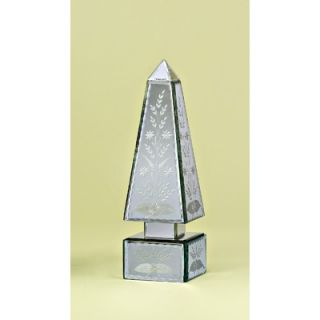 Venetian Gems Large Mirror Obelisk