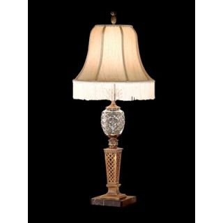 Dale Tiffany Antiques Roadshow Beckette Table Lamp in Brass