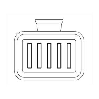 American Standard Town Square Soap Dish & Towel RACk