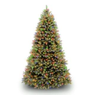 National Tree Co. Douglas Fir Pre Lit 7.5 Downswept Tree with LED