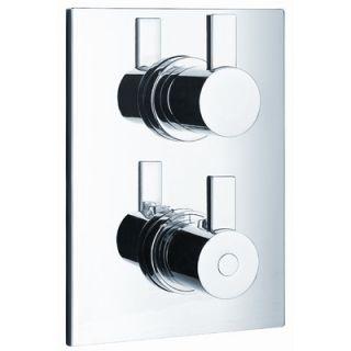 Artos Milan Shower Thermostat with Diverter   F704 3BN / F704 3CH