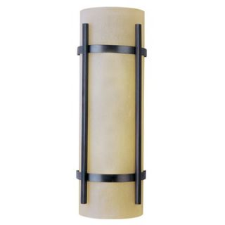 Maxim Lighting Luna Wall Sconce in Oil Rubbed Bronze   Energy Star