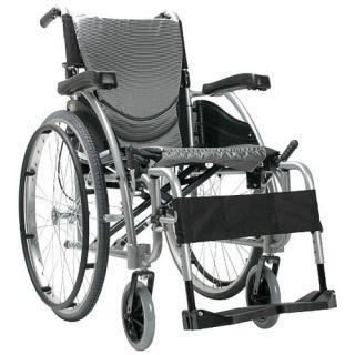 115Q Ergonomic Lightweight Wheelchair With Quick Release Wheels