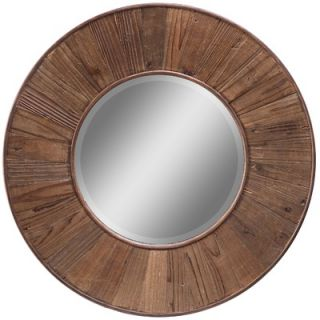 Cooper Classics Riley Mirror in Distressed Natural Rustic Wood