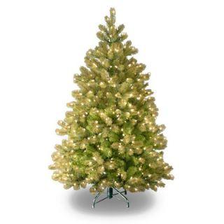 National Tree Co. Douglas Fir Pre Lit 4.5 Downswept Tree   PEDD4