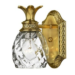 Hinkley Lighting Plantation Wall Sconce in Burnished Brass
