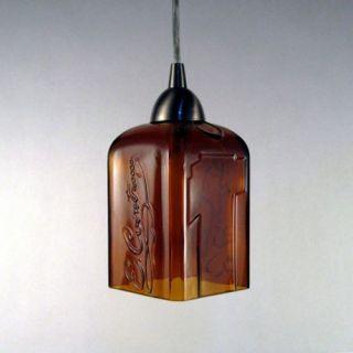 Bottlehood 1 Light Pendant   L P COIN ORB