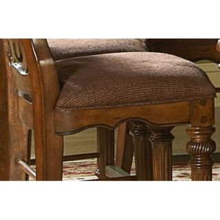Wynwood Reinosa Wood Back Counter Stool in Burnished Tobacco   1861