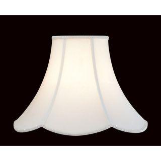 Shantung Lamp Shade with Scalloped Edge