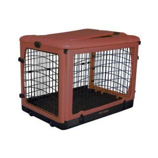 Pet Gear Deluxe Steel Dog Crate in Rust   PG59   X