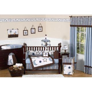 Sweet Jojo Designs Starry Night 9 Piece Crib Bedding Set