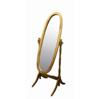 ORE Cheval Floor Mirror in Oak   N4001 NA