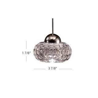 WAC Quick Connect Clear Glass Lens Track Lighting Fixture   QF 196