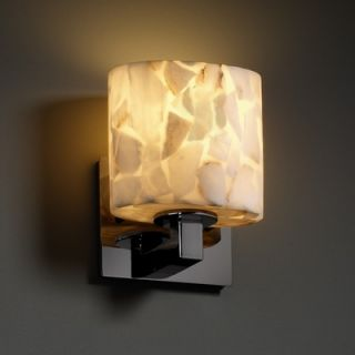 Justice Design Group Alabaster Rocks Modular One Light ADA Wall Sconce