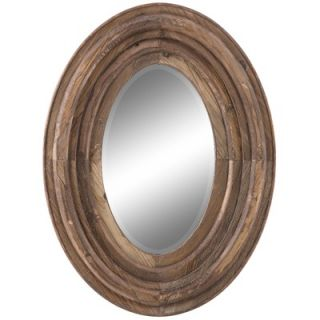 Cooper Classics Aaron Mirror in Distressed Natural Rustic Wood