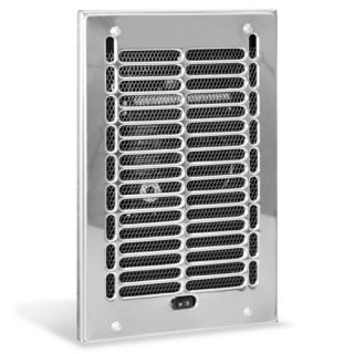RBF Series Fan Forced Wall Heater in Chrome