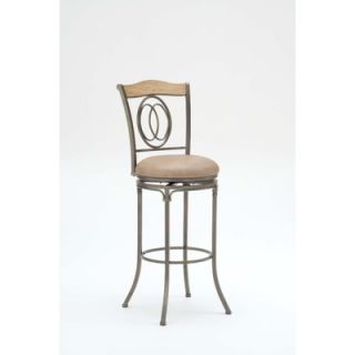 Hillsdale Riggler Swivel Stool in Distressed Washed Ash   4722 833