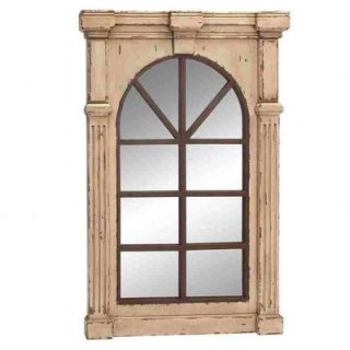 Woodland Imports Wall Accent Wood Mirror