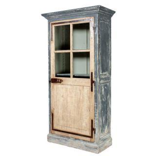 Artmax Four Door Cabinet in Old World Silver
