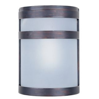 Maxim Lighting Arc Outdoor Wall Lantern in Oil Rubbed Bronze