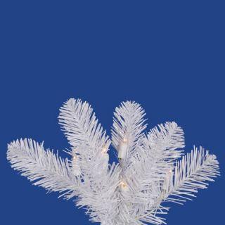 Vickerman White Salem Pencil Pine 6.5 Artificial Christmas Tree with