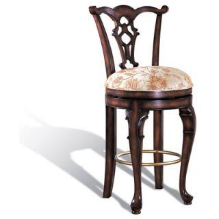 Legion Furniture Swivel Counter Stool in Dark Brown   W1745S 24
