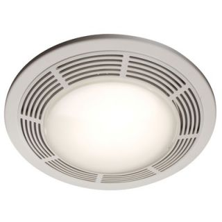 Broan Nutone Round Bathroom Exhaust Fan with Light and Night Light