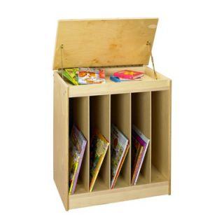 Wood Designs Cubbie Big Book Easel in Natural   0543AE natural