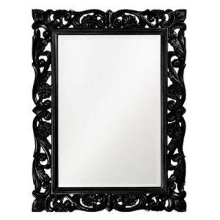 Howard Elliott Chateau Mirror in Black
