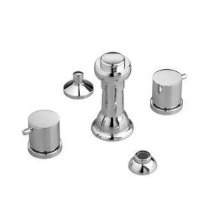 Jado Borma Triple Handle Vertical Spray Bidet Faucet   814/144/100