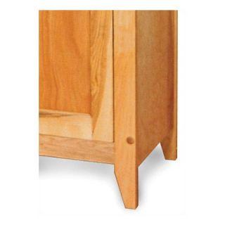Catskill Craftsmen Flat Panel Single Door Cabinet