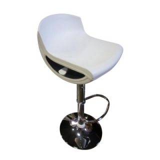 Global Furniture USA St. Croix Bar Stool   207BS BEI / 207BS WH