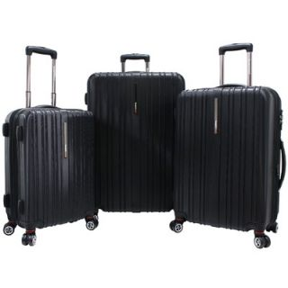 Travelers Choice Tasmania 3 Piece Hardsided Expandable Luggage Set